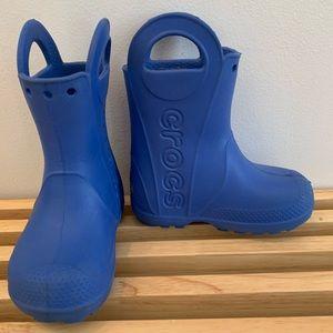 Handle It Crocs rain boot